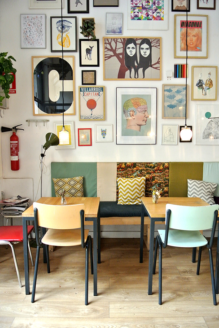 Cafe Cometa in Barcelona via epic-guide.com